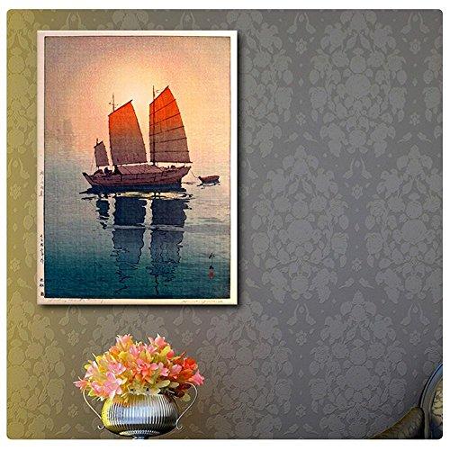 Alonline Art - Sailing Boats Hiroshi Yoshida POSTER PRINTS R