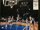 #7: Autographed/Signed Christian Laettner Duke Blue Devils