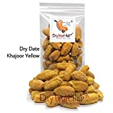 Dry Fruit Hub Deluxe Dates Dry Kharik Natural (Khajoor) Yellow - Pack of 1Kg (35 oz)