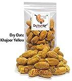 Dry Fruit Hub Deluxe Dates Dry Kharik Natural (Khajoor) Yellow - Pack of 250 Grams (0.55 lbs)