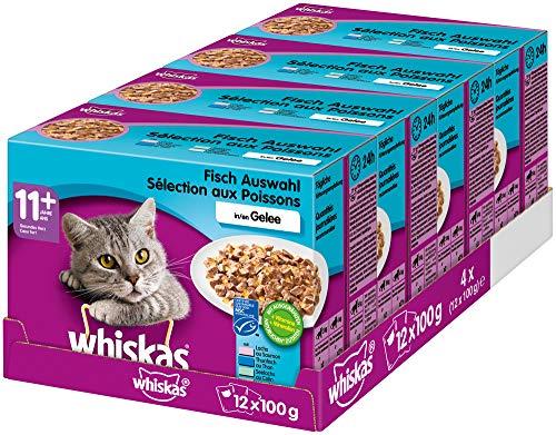 whiskas Alleinfuttermittel für ältere Katzen 11+ – Tiernahrung.