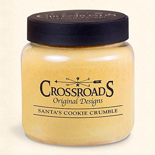 Santa's Cookie Crumble Jar Candle - 16oz.