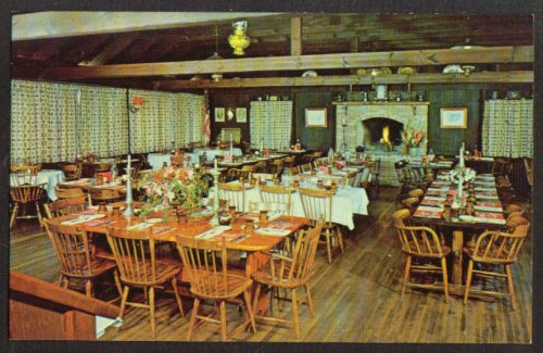 Dining Room The Old Mill Concordville Pa Postcard 1950s At Amazons