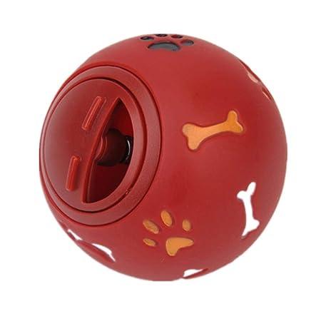 babyzhang 2PCS Juguete para Perros Pelota de Goma Dispensador de ...