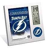 WinCraft NHL Tampa Bay Lightning Desk Clock, Black At Amazon.com