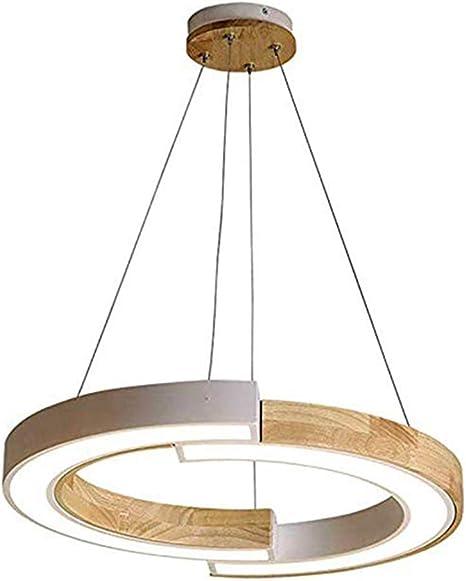 LED Ess Wohn Schlaf Zimmer Beleuchtung Hänge Lampen Holz Eiche Pendel Leuchten