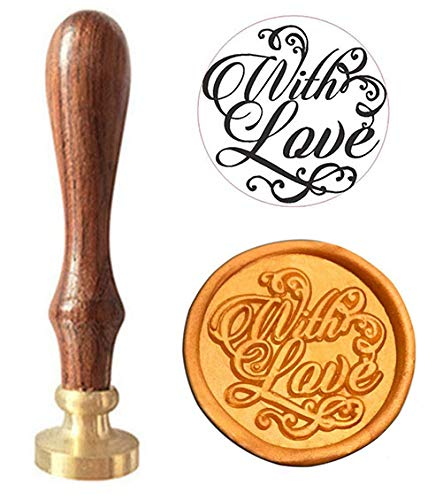 MNYR with Love Signature Monogram Wax Seal Sealing Stamp Calligraphy Embellishment Invitation, Cards, Snail Mail, Gift Wrapping, Wine Package, Great Gift Idea Wedding Invitations Christmas Seal -