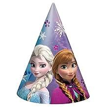 Disney Frozen Party Hats, 8ct