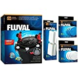 Fluval FX-4 or FX-6 Aquarium Canister Filter Package