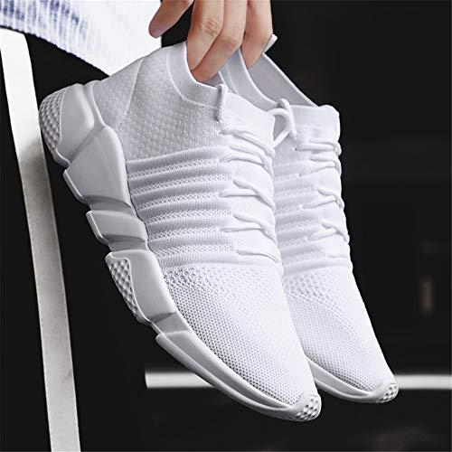 Run Mocassins Chaussures Hommes 113 Blanc Baskets Pied Casual Légers Femmes De Sport Fitness Pour Mode Course Athletic À Shoes qrgUPwqZ