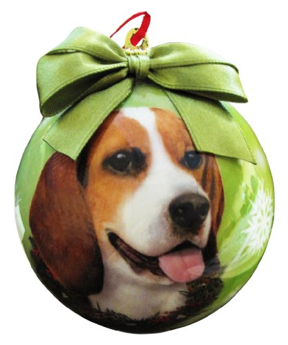 Beagle Christmas Ornament Shatter Proof Ball Easy To Personalize A Perfect Gift For Beagle Lovers