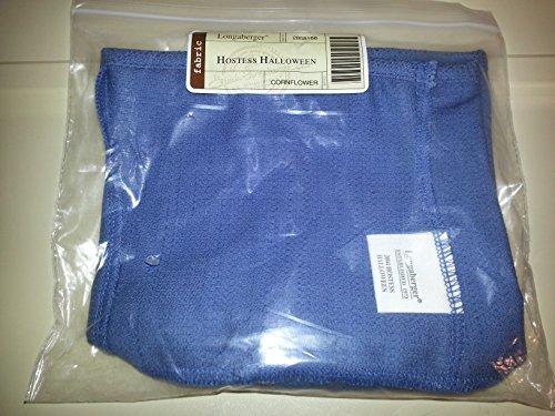 Hostess Halloween Basket Liner Cornflower Fabric
