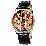 LCW018-1 New Chip N Dale Stainless Wristwatch Wrist Watch
