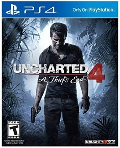 Amazon com: Uncharted 4: A Thief's End - PlayStation 4: Sony