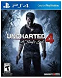 Uncharted 4 A Thief's End by Naughty Dog for PlayStation 4