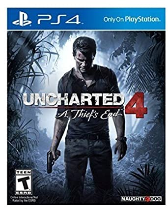 Amazon Com Uncharted 4 A Thief S End Playstation 4 Sony Interactive Entertai Video Games