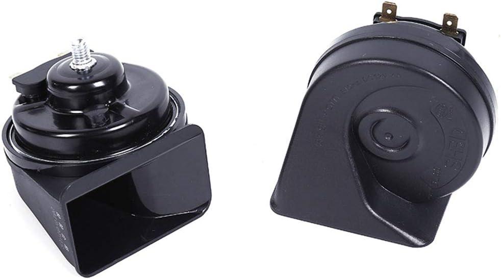 Loud Dual-tone Snail Horn Universal Electric Air Horn 12V 110 dB Car Truck Auto