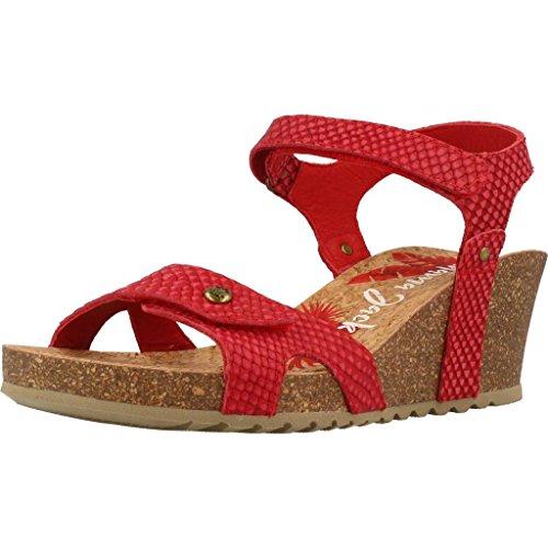 Sandalias Modelo Rojo Color Para Rojo Panama B18 Julia Mujer Y Snake Marca Jack Mujer Chanclas Rzn0zYq5U