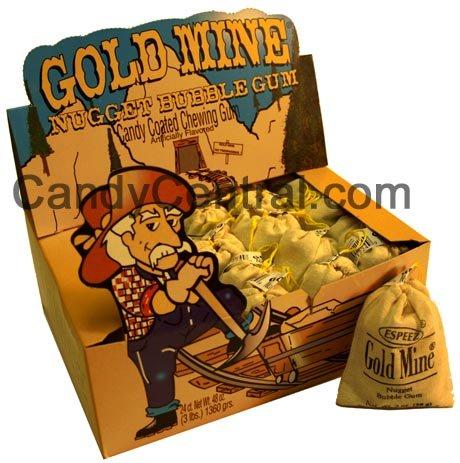 Gold Mine Bubble Gum -