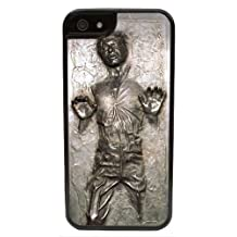 RHINO ARMOUR SLIM - Ultra Premium Case -CasesTM Han Solo Carbonite (Flat Back Not 3D) iPhone 7 Case -Includes 2 screen protectors