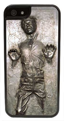 hot sale online 9f14a 680e6 Amazon.com: Cell World LLC - Han Solo Carbonite (Flat Back Not 3D ...