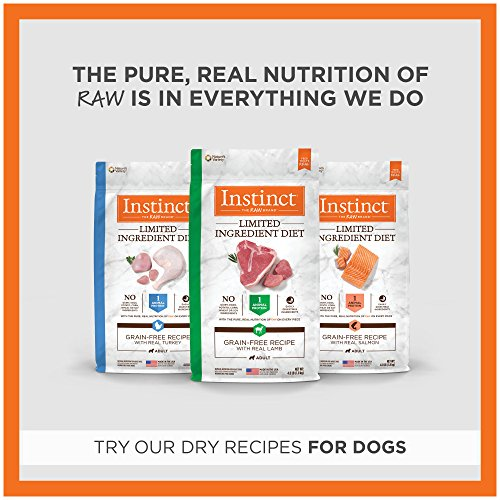 Instinct Limited Ingredient Diet Grain Free Real Rabbit Recipe Natural Wet Canned Dog Food by Nature's Variety, 13.2 oz. Cans (Pack of 6) by Instinct (Image #4)
