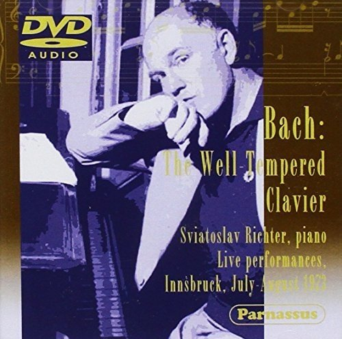 Bach: The Well-Tempered Clavier - Live in Innsbruck, July-August 1973 by Parnassus (Image #2)