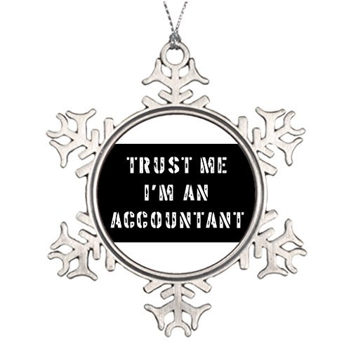 Venu67Hol Businesses Ideas for Decorating Christmas Trees Accountants Halloween Snowflake Ornaments Tree Decor -