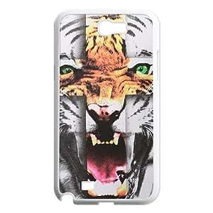 Tiger Roar Cross ZLB514108 Unique Design Case for Samsung Galaxy Note 2 N7100, Samsung Galaxy Note 2 N7100 Case