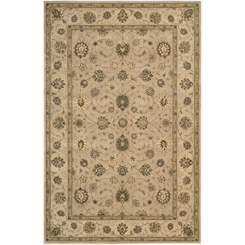 Nourison Nourison 2000 (2071) Camel Rectangle Area Rug, 5-Feet 6-Inches by 8-Feet 6-Inches (5'6