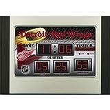 Best Fans With Pride Alarm Clocks - Detroit Redwings Scoreboard Desk Clock Review