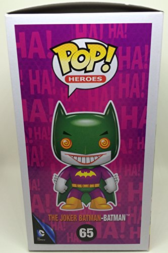 Heroes 5230 Funko Joker as Batman POP Heroes Lootcrate Exclusive Statuette Pop