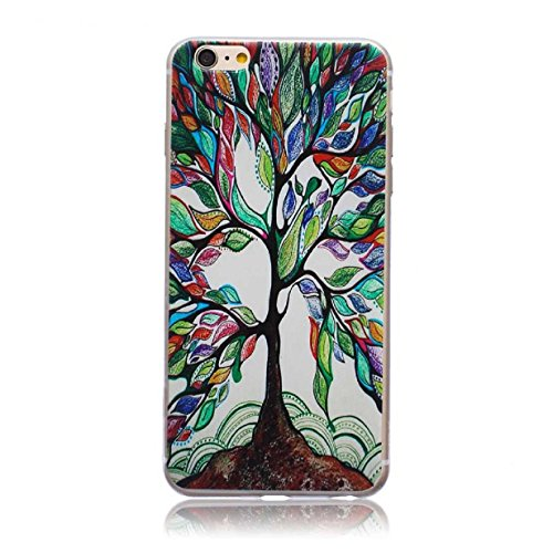 ABC? New Tree Of Life Tree Carved Soft TPU Case Cover for iPhone 6 Plus