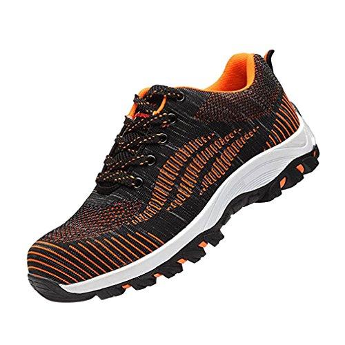 de Hombres Unisex Calzado Calzado Senderismo Mujer Zapatos Naranja Deportivo TqxwPEF