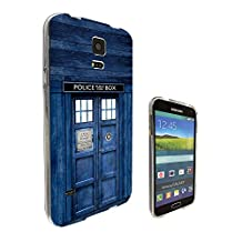 567 - Doctor Who Tardis Police Call Box Design Samsung Galaxy S5 / S5 Neo fashion Trend CASE Gel Rubber Silicone All Edges Protection Case Cover