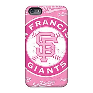 MarcClements Apple Iphone 6 Comfortable Phone Hard Cover Support Personal Customs Fashion San Francisco Giants Pictures [odr18796assv]