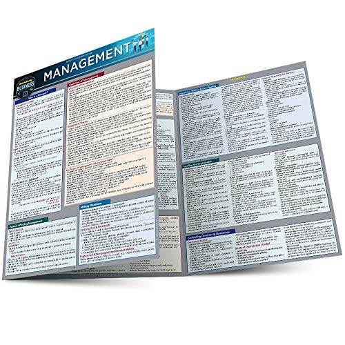 Management: a QuickStudy Laminated Reference Guide (Quickstudy Reference Guide)