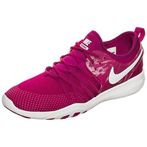 (Nike Women's WMNS Free Tr 7 Trainers, Red (Sport Fuchsia/White), 7.5 UK (42 EU))