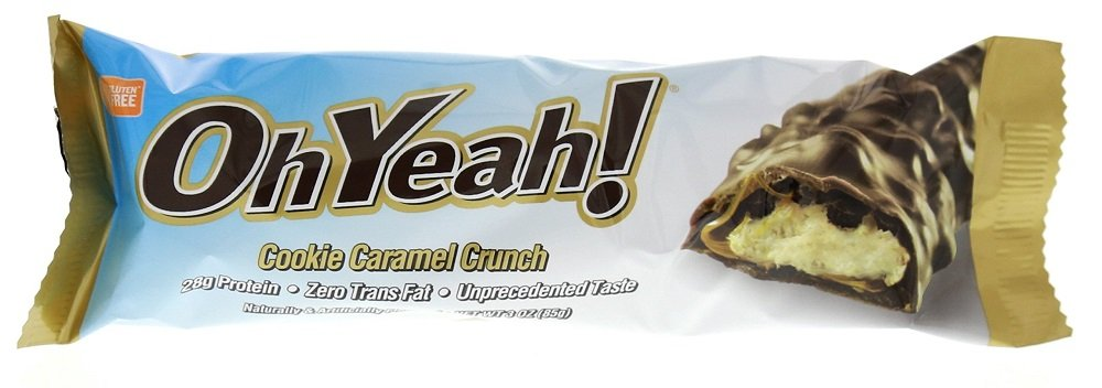 ISS Oh Yeah Protein Bars, Cookie Caramel Crunch 12 bars