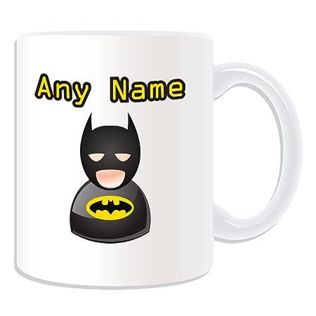 Mugicon Unigift Personalised Namemessage Your Design On Unique Hero Gift Batman ThemeWhiteAny lFKc3uT1J
