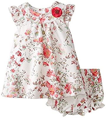 Baby Girls Floral Swing Dress by Pippa & Julie Baby