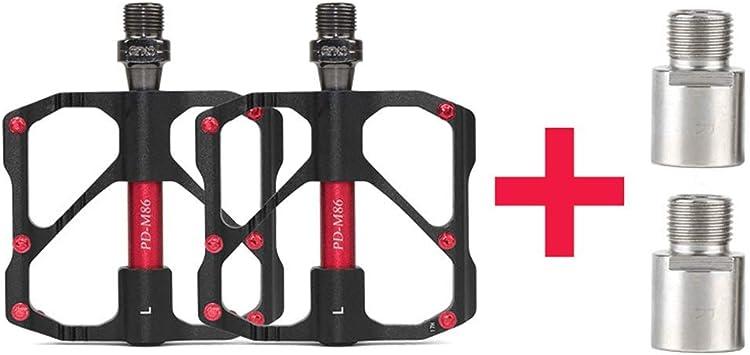 bike pedals carbon fiber bicycle pedal black A pair