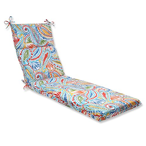 (Pillow Perfect Outdoor Ummi Chaise Lounge Cushion,)
