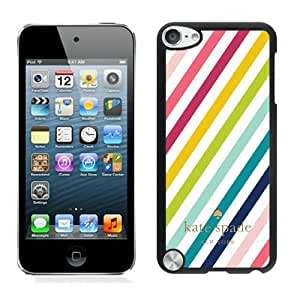 Personalized Popular Design Ipod Touch 5 Case Kate Spade New York Phone Case For iPod Touch 5 Plastic Cover Case 215 Black
