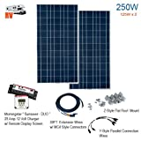 Solartech 250-Watt Complete RV Solar Panel Power Kit