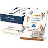 Hammermill Paper, Fore Multipurpose Paper, 11 x 17 Paper, Ledger Size, 20lb Paper, 96 Bright, 5 Reams / 2,500 Sheets (103192C) Acid Free Paper