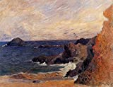 Gauguin Paul Rocky Coast 100% Hand Painted Oil Paintings Reproductions 12X16 Inch
