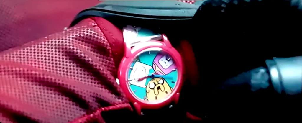 Adventure Time Reloj de Muñeca mismo Deadpool lleva en la película de Cosplay analógica: ADVENTURE TIME: Amazon.es: Relojes