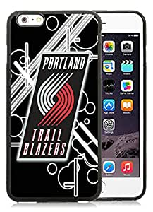 New DIY Designed Skin Case For iPhone 6 Plus 5.5 Inch With portland trail blazers 12 Black Phone Case