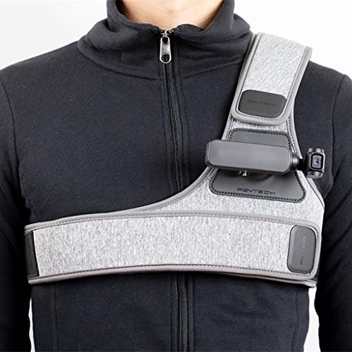 - NszzJixo9 PGYTECH Sports Camera Chest Strap Suitcable for DJI Osmo Pocket PTZ Camera Easy to Contro More Convenient Flexible Fabric